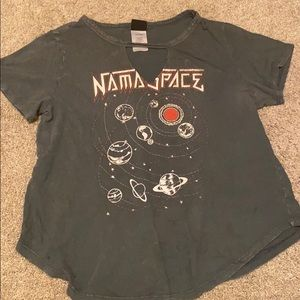 This is a namaspace graphic tee-shirt
